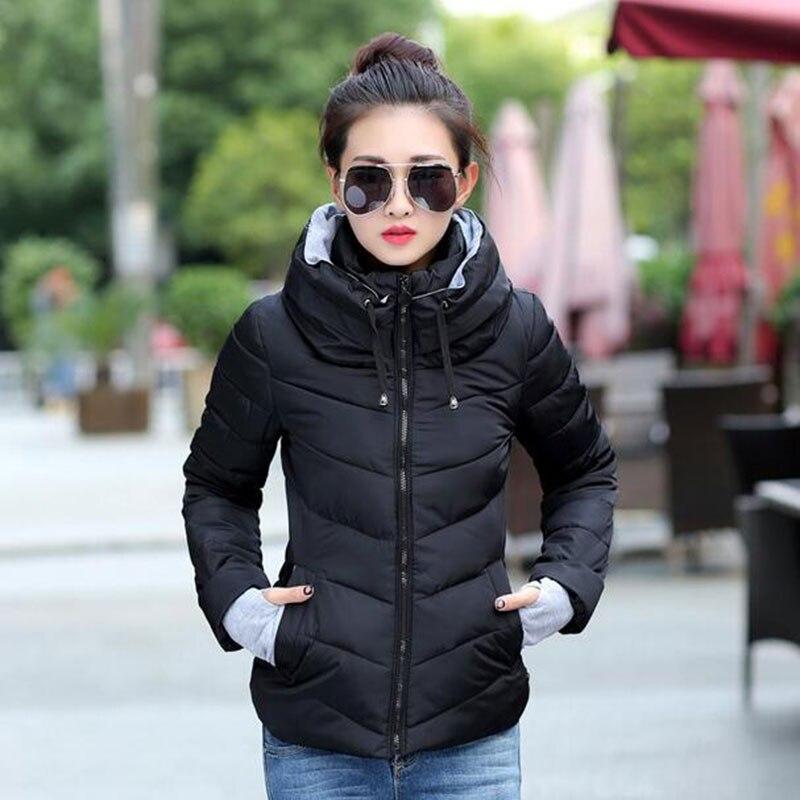 Aliexpress.com : Buy 1PC Winter Jacket Women Short Cotton Parka ...