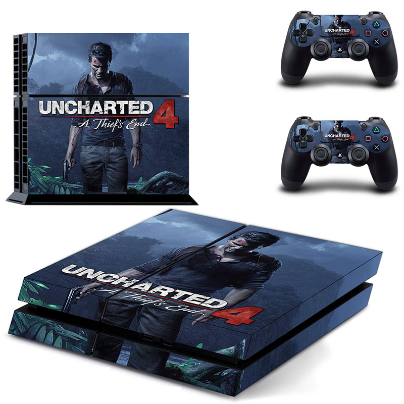 for ps4 Classic sticker Batman call of Duty Uncharted waters Skin sticker Vinyl Cover Decal for Sony Play Station 4