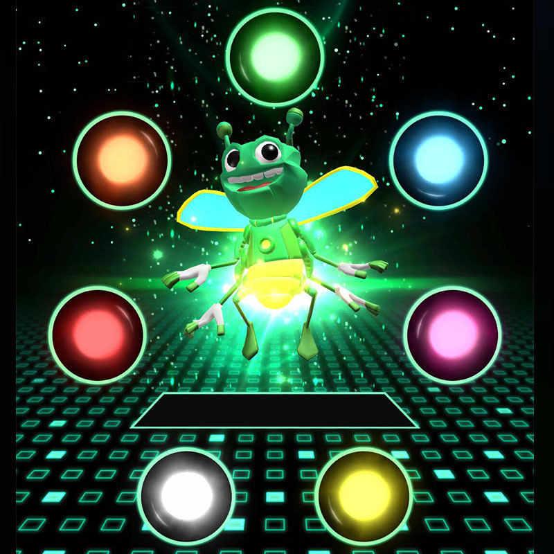 Nuevos modelos de explosión Spot Bee Finger Magic Props Light teléfono móvil proyección holográfica fluorescente Prop lámpara Juguetes
