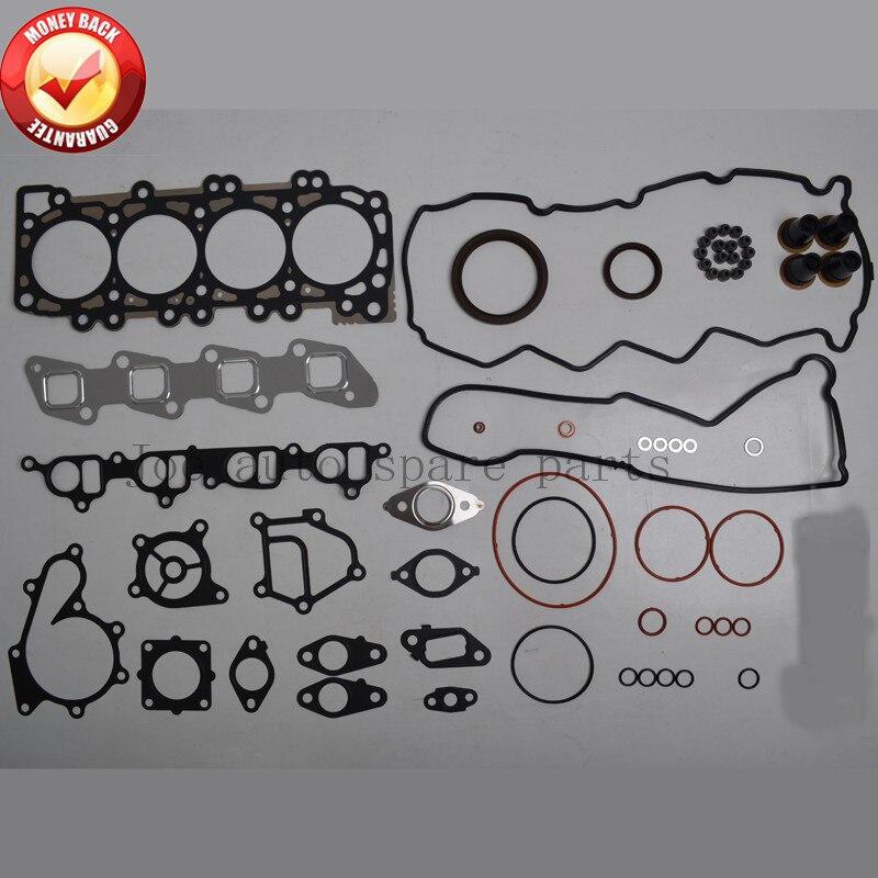 Kit de joints moteur YD25 YD25DDTI 2.5L pour Nissan Navara (D40) 2006-/Pathfinder (R51) 2007-/Murano 2001-/NV350 51023700