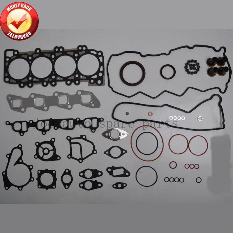 YD25 YD25DDTI 2.5L Engine Full gasket set kit for Nissan Navara (D40) 2006- /Pathfinder (R51) 2007-/Murano 2001-/NV350 51023700