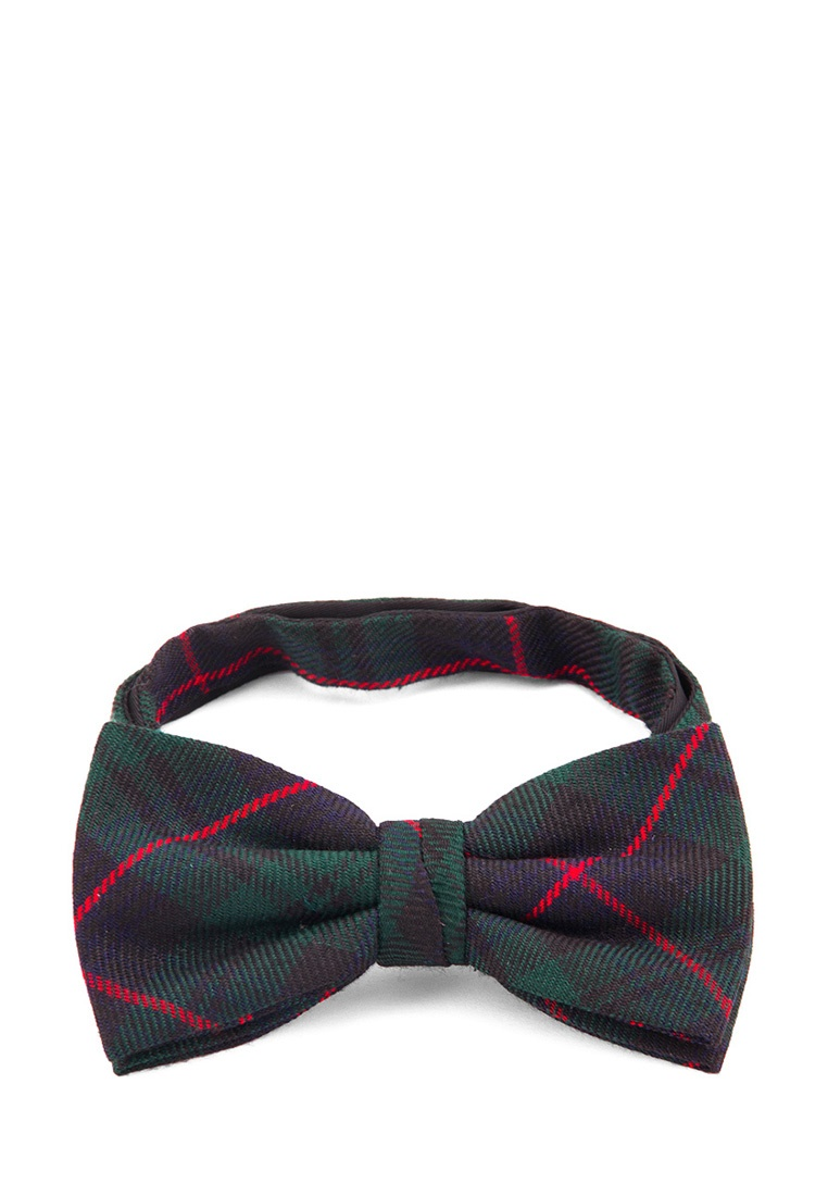 [Available from 10.11] Bow tie male CASINO Casino-poly-Tweed 512.1.67 Multicolor contrast tie neck faux pocket tweed dress