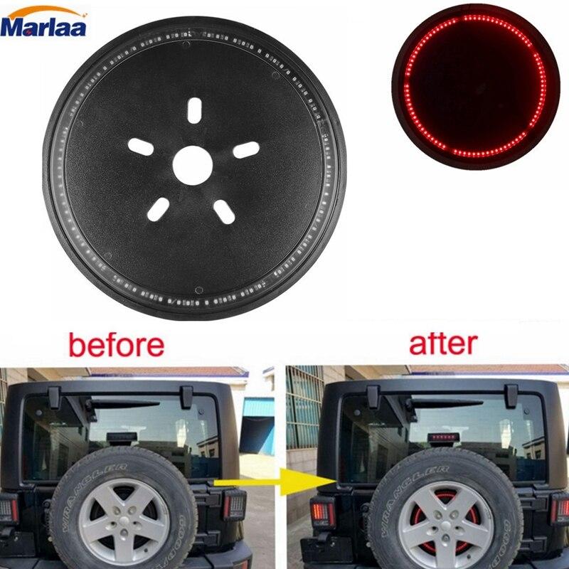 3-й набор света СИД для джипов запасных тормозных шин света для Wrangler запасное заднее колесо свет