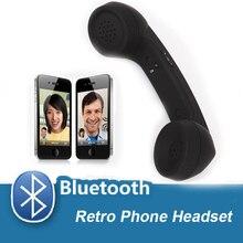 2018 мобильный телефон Ретро беспроводной Bluetooth гарнитура регулируемый объем предотвращения излучения с микрофоном для iphone 8 7