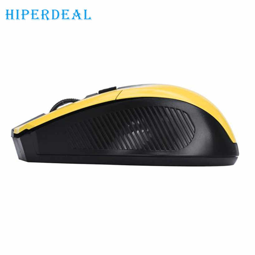 HIPERDEAL 2017  Free shiping  2.4GHz Wireless Optical Gaming Mouse Mice For Computer PC Laptop Dropshiping  Plug and play Sep18