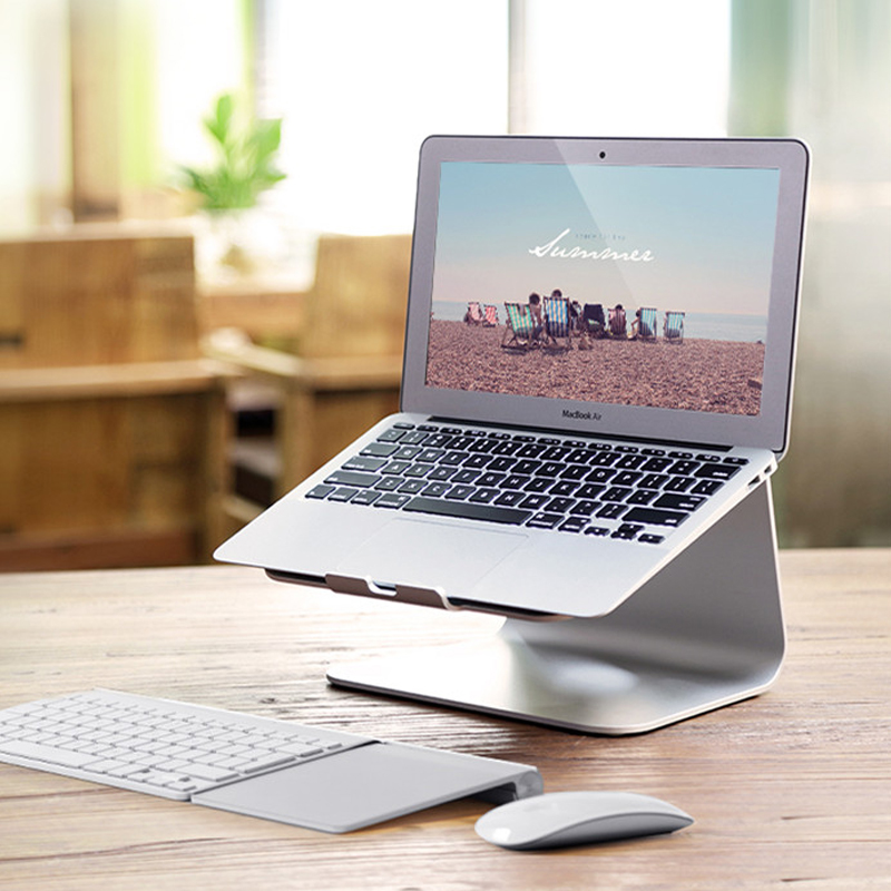 Laptop Stand -Aluminum Cooling For Macbook Stan, Holder for Apple Macbook Air, For Macbook Pro, All Notebooks