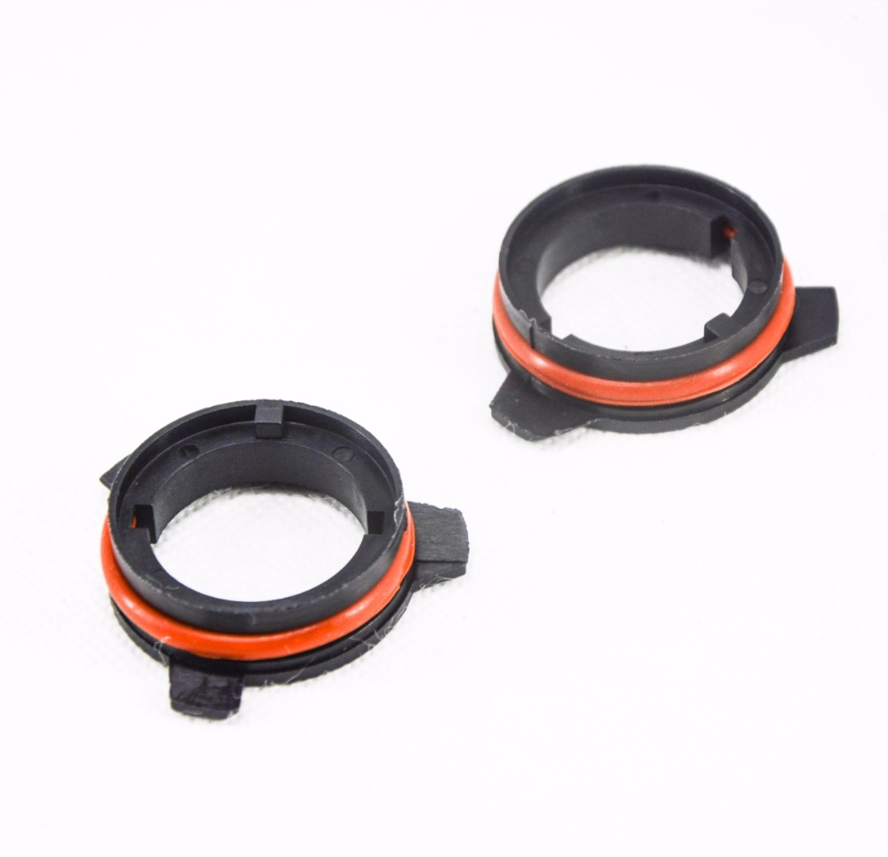 CHEdnh-Hk Car light bulb holder D2S Base for Headlight bulb D2 HID Conversion holders adapters for BMW E39 D2 Xenon Adapter for car lamp holder Color : Black