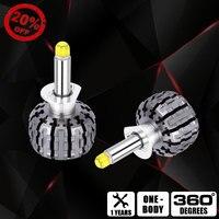 Car Goods Light Kit Led H1 360 Lighting Light Bulbs For Auto Led H3 Bulb 880 LED 881 H27 Bulb 6000K 12V LED Headlight Lamp Bulb