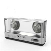 High Power Transparent Speaker Wireless Bass Calling Bluetooth Portable Audio Box Sound Bomb External Phone Speaker Column