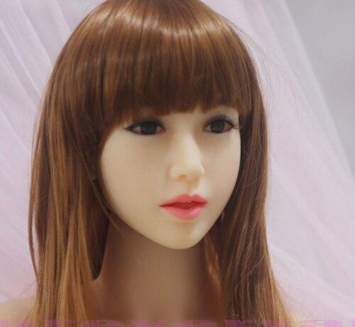 Nuevo real de silicona muñeca de amor cabezas del realista muñecas del cabezas sexo oral sexo para los hombres de calidad superior 384ba0