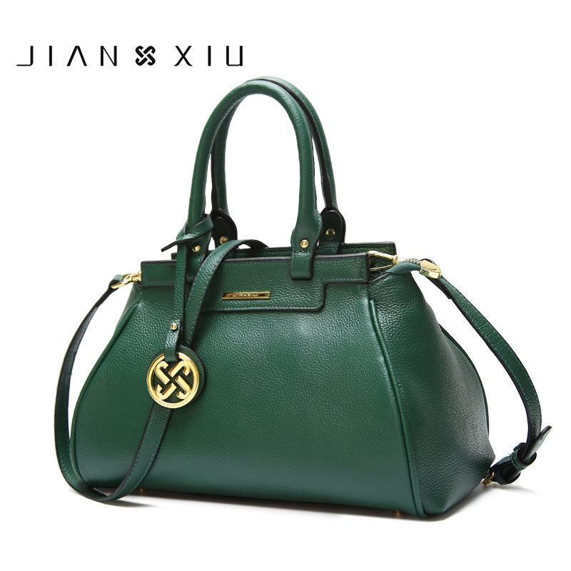 JIANXIU Genuine Leather Women Bag Luxury Handbags Messenger Shoulder Bags Hobos Designer Handbag Sac a Main Bolsas Feminina 2018 jianxiu brand fashion women messenger bags sac a main genuine leather handbag bolsa bolsas feminina shoulder crossbody small bag
