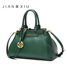 JIANXIU Genuine Leather Women Bag Luxury Handbags Messenger Shoulder Bags Hobos Designer Handbag Sac a Main Bolsas Feminina 2018