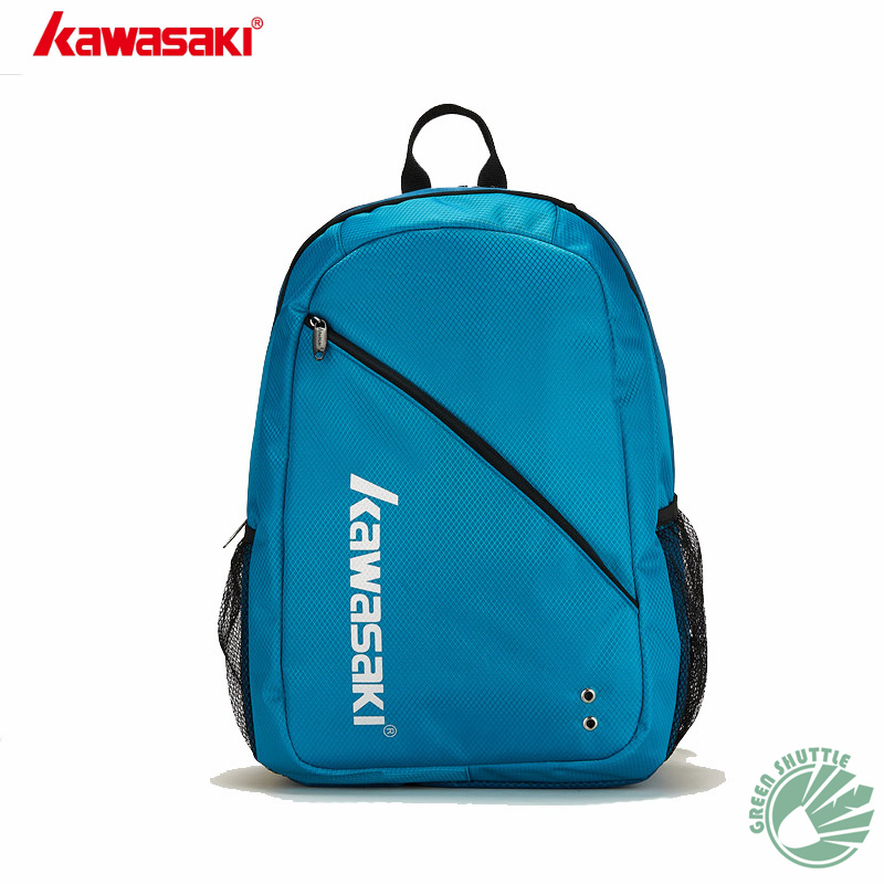 2019 New Kawasaki Mountaineering Travel Bag Badminton  Double Shoulder Backpack Student  Both Boys And Girls kbb 8208 8207-in Racquet Sport Bags from Sports & Entertainment