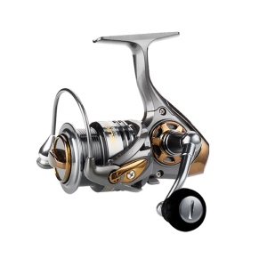 Image 4 - YUYU quality Metal Fishing reel spinning metal shallow spool 2000 3000 5000 6+1BB 7.1:1 spinning reel for carp fishing