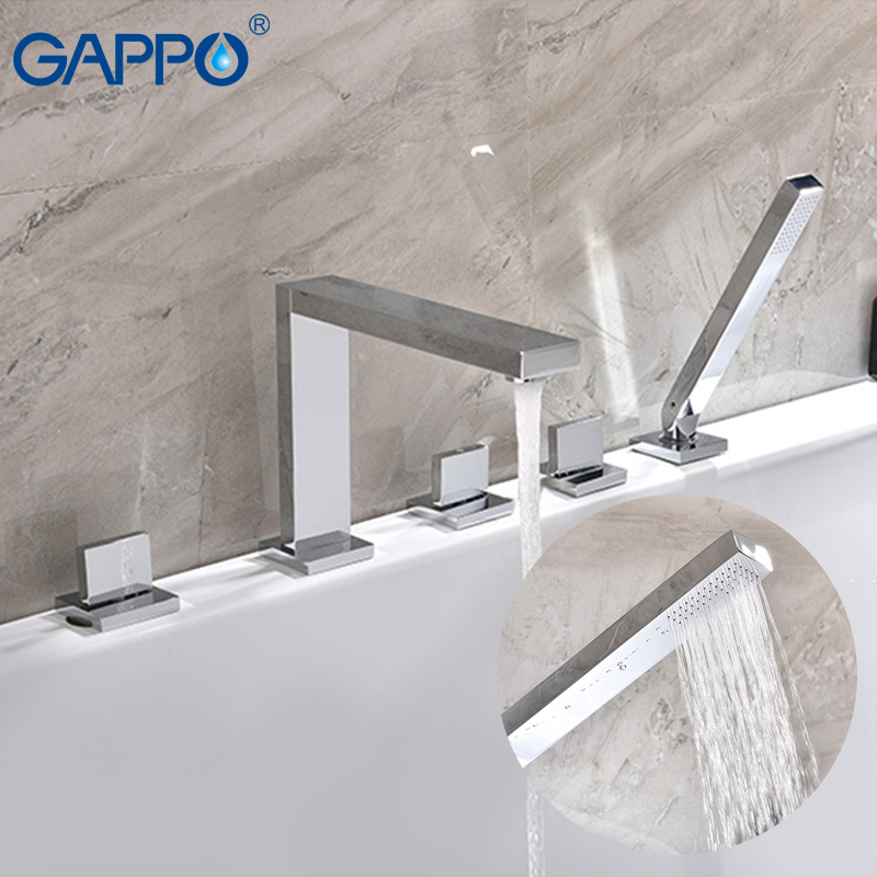 GAPPO shower faucet sink waterfall faucets shower mixer tap bath faucet mixer wall mounted Rainfall taps bathtub Faucets