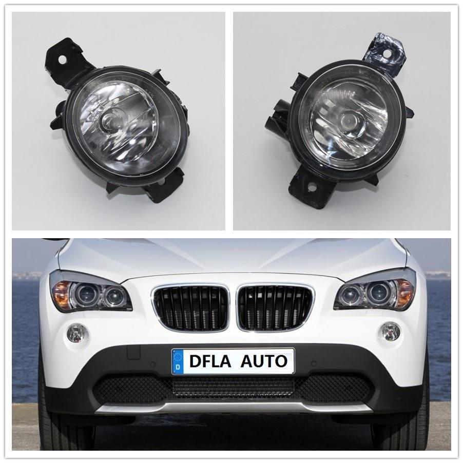Car Light For BMW X1 E84 2009 2010 2011 2012 2013 2014 2015 Car-styling Front Halogen Fog Light Fog Lamp 2pcs auto front bumper fog light lamp h11 halogen car styling light bulb for nissan sentra 2004 2009 2010 2011 2012 2013 2015