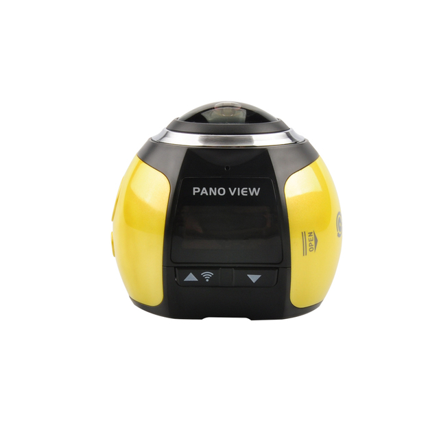 Camera 4k 360 Wifi Mini 360 Degree Sports Action Camera 2448*2448 Ultra HD Panorama Sport Driving VR Camera