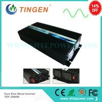 24 В до 220 В 2000 Вт инвертор Чистый синусоидальный сигнал 2kw DC 12 В 24 В 36 В AC 100 В 110 В 120 В