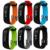 Legal p1 bluetooth inteligente pulseira de relógio à prova d' água heart rate monitor de pressão arterial smart watch para android ios