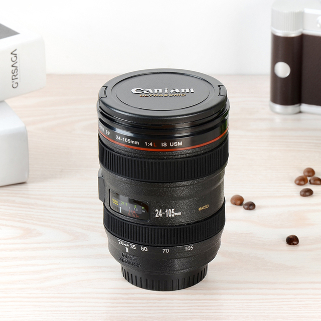 New Caniam SLR CameraLens Coffe Or Tea Mug