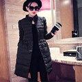 2016 Novas Mulheres Jaqueta Moda Inverno Casacos Parkas Para Baixo Casacos de Algodão Coreano Magro Primavera E No Outono Roupas Femininas