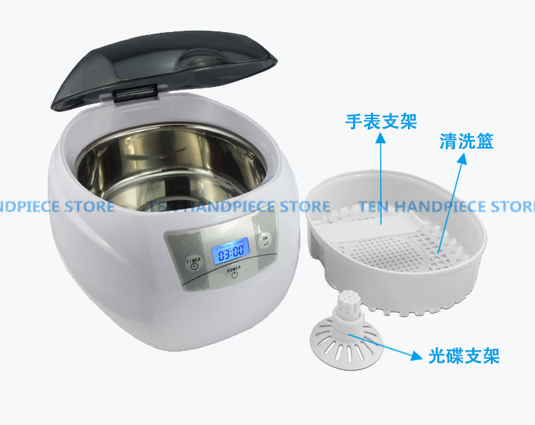 2018 good quality Small Ultrasonic cleaning machine Jewelry Household Denture Watch Washer