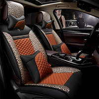 Sports Car Seat Cover Cushion High Grade Leather Car Accessories Car Styling For BMW Audi Honda