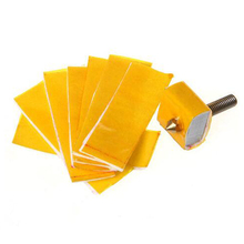 Practical 10PCS 2mm Thick Printer Heating Block Cotton Nozzle Heat Insulation
