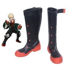 Boku no Hero Academia My Bakugou Katsuki Cosplay Boots Shoes Custom Made