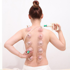 Image 1 - 12 Pcs Arabic Vacuum Cupping Massage Cans Massager Health Cupping Set Monitors Product Cans Opener Pull Vacuum Cupping Massage