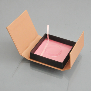Image 3 - 150pc custom lash boxes packaging eyelash box with logo faux cils 3d mink eyelashes strip square magnetic case bulk vendors