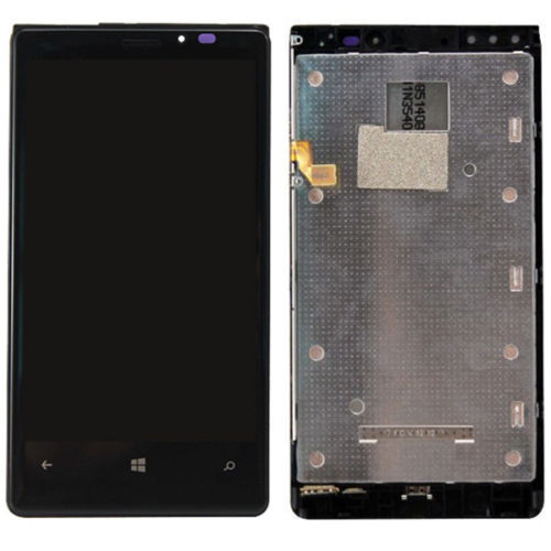A New LCD Display Screen + Touch Digitizer + frame for Nokia Lumia 920 N920 free shipping