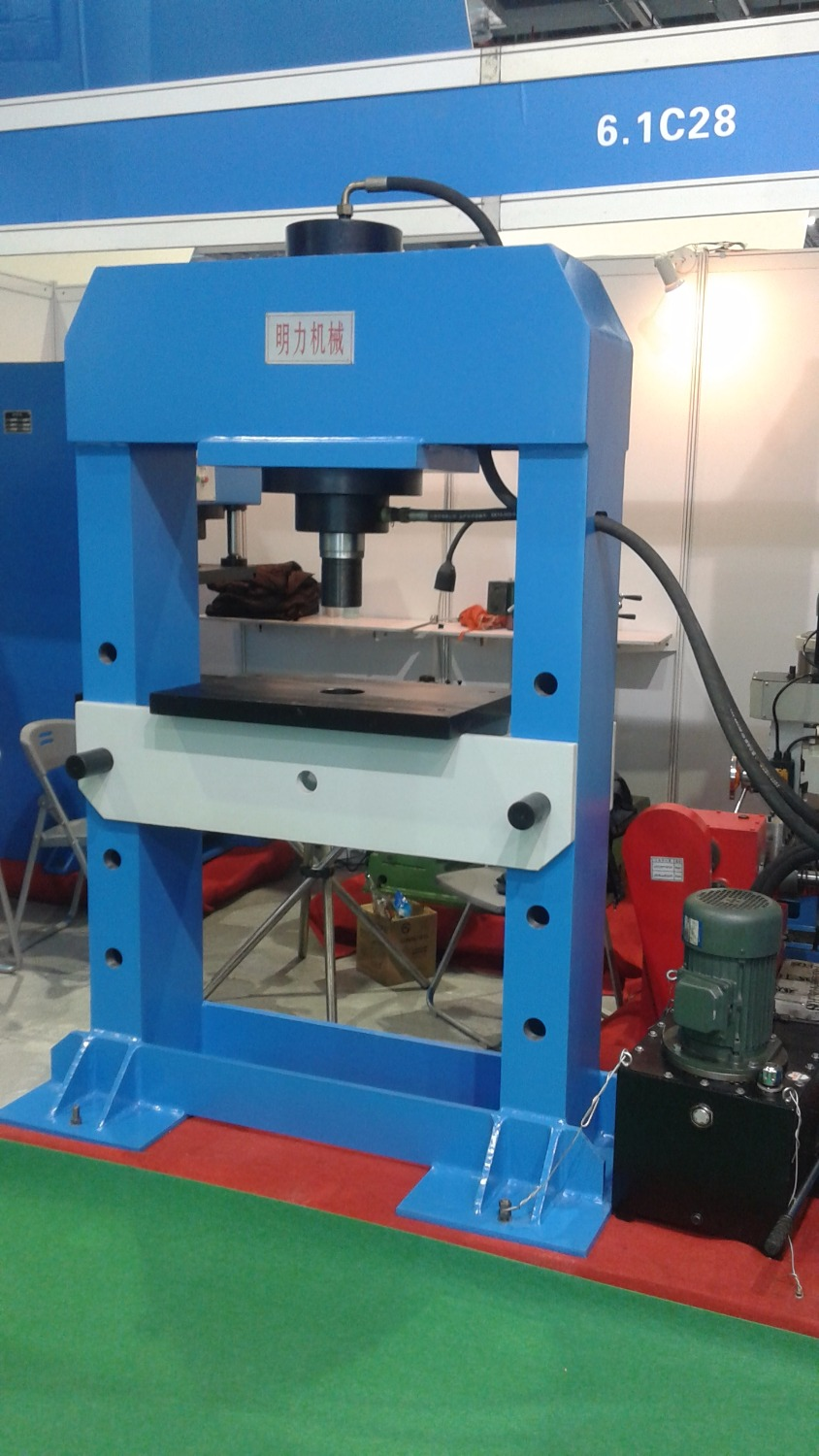 YJL 150 electric hydraulic press machine shop machinery tools