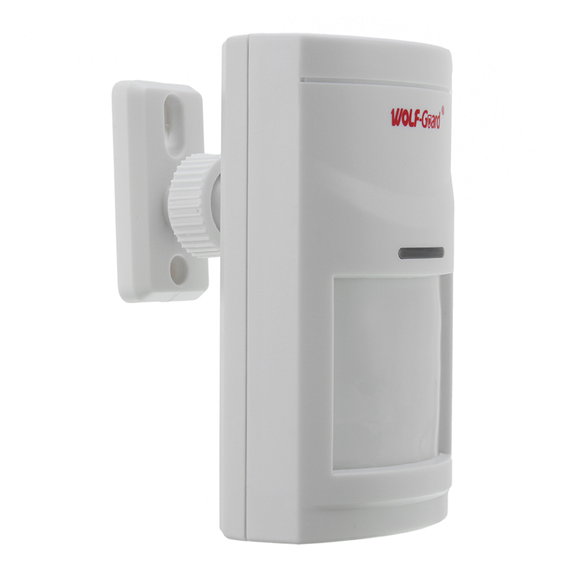 Wireless Binary Wide-Angle Infrared Alarm Sensor PIR Motion Detector For Alarm System Home Security бра oml 77301 01 omnilux 1116020