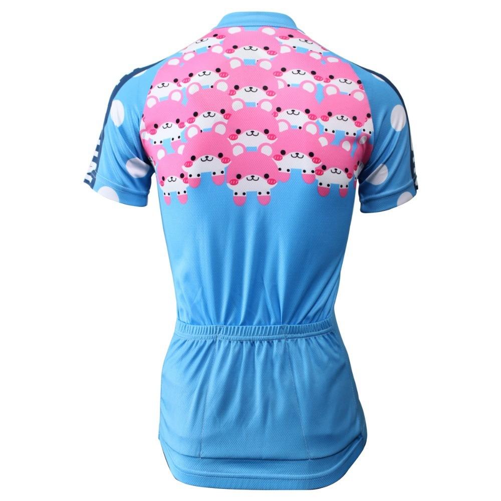 PALADIN ženska majica za bicikliste kratkih rukava s kratkim - Biciklizam - Foto 3