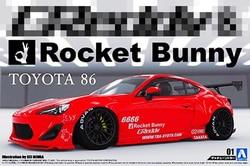 1/24 Toyota 86 ракета кролик ENKI C 05093