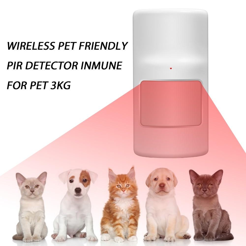 bilder für Drahtlose alarm zubehör intelligente anti pet detektor motion sensor sensor für g90b gsm pstn alarmanlagen