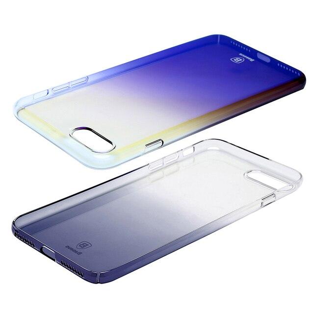 Baseus Luxury Plating Gradient Hard Plastic Case for iPhone 7 7 Plus 8 8 Plus (Ultra Thin PC Case) 3