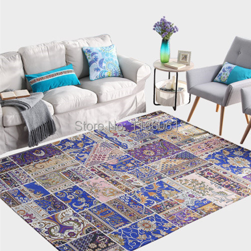 Discount modern carpet for livingroom and area red rug of - Alfombras salon modernas ...