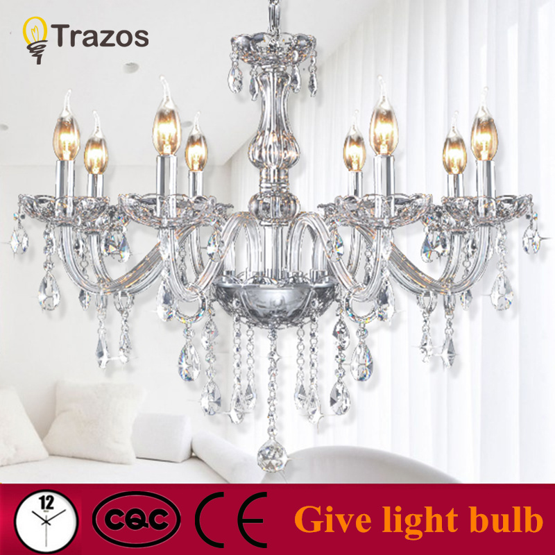 Modern Crystal LED Chandeliers For Home Decor lustres de cristal Living Room Pendant Lamp Luxury Indoor Bedroom Lighting modern led crystal chandelier lights living room bedroom lamps cristal lustre chandeliers lighting pendant hanging wpl222