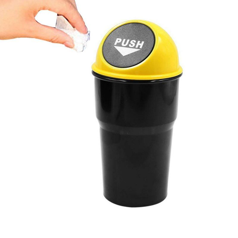 New car trash can Hot Sale creative car garbage can High quality table trash can Garbage Dust Case Holder Bin Car-styling
