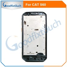 New For Caterpillar Cat S60 Cellphone 4.7'' IP68 Wateproof Middle Frame Housings Case With Sim Card Slot Side Buttons Parts(China)