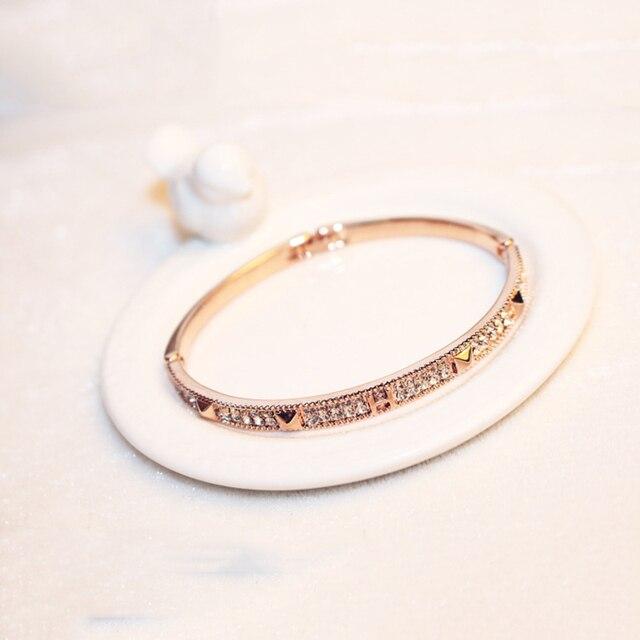Креативный классический модный браслет с кристаллами для женщин
