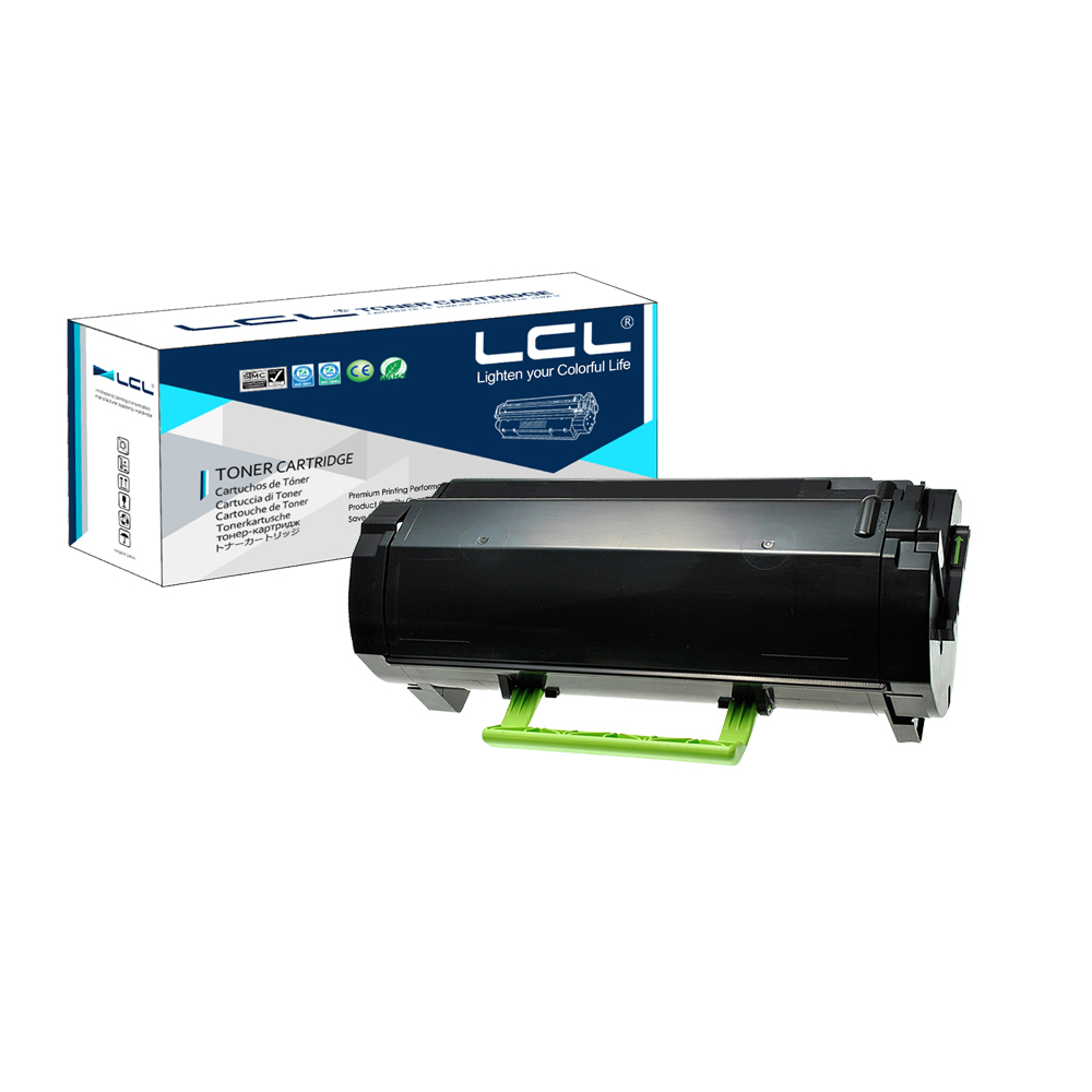 LCL 622 62D2000 (1-Pack Black) Toner Cartridge Compatible for Lexmark MX710DE MX710DHE MX711DE MX711DHE MX711DTHE MX810DE DFE compatible toner lexmark c930 c935 printer laser use for lexmark refill toner c940 c945 toner bulk toner powder for lexmark x940