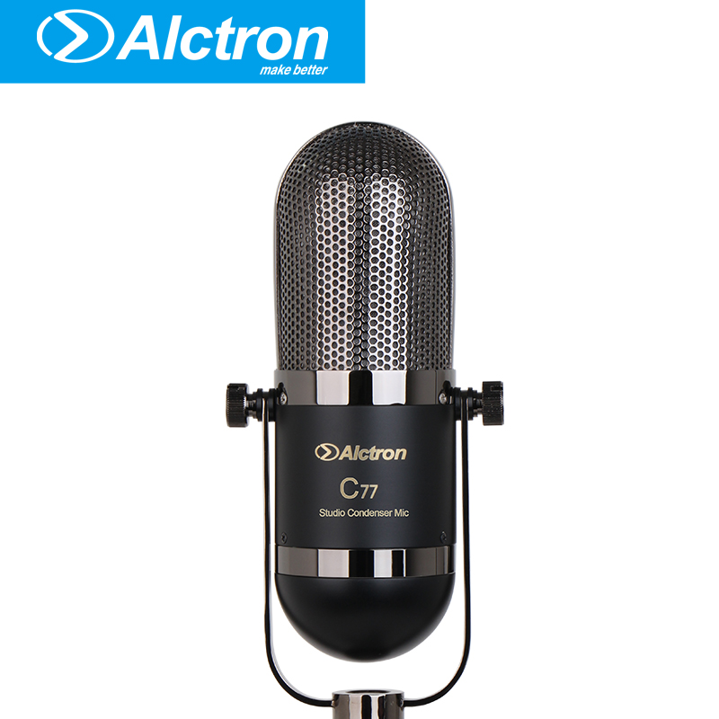 Alctron C77 Studio Condenser Microphone, Instrument Microphone Used In Percussion, Piano, String And Such Kinds Of Instruments