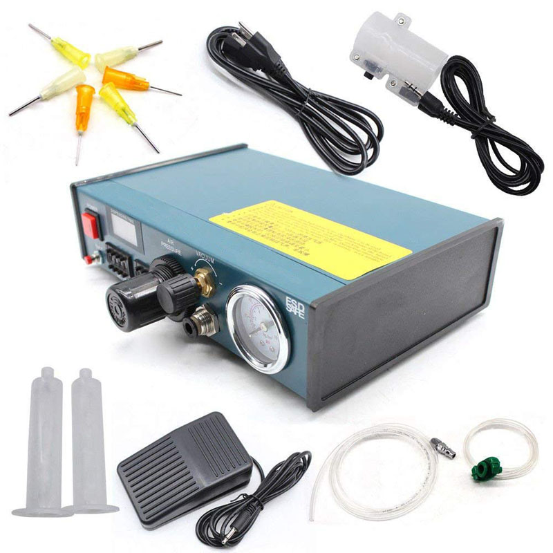 Digital Auto Display Solder Paste Glue Dropper Liquid Dispenser Controller 983A