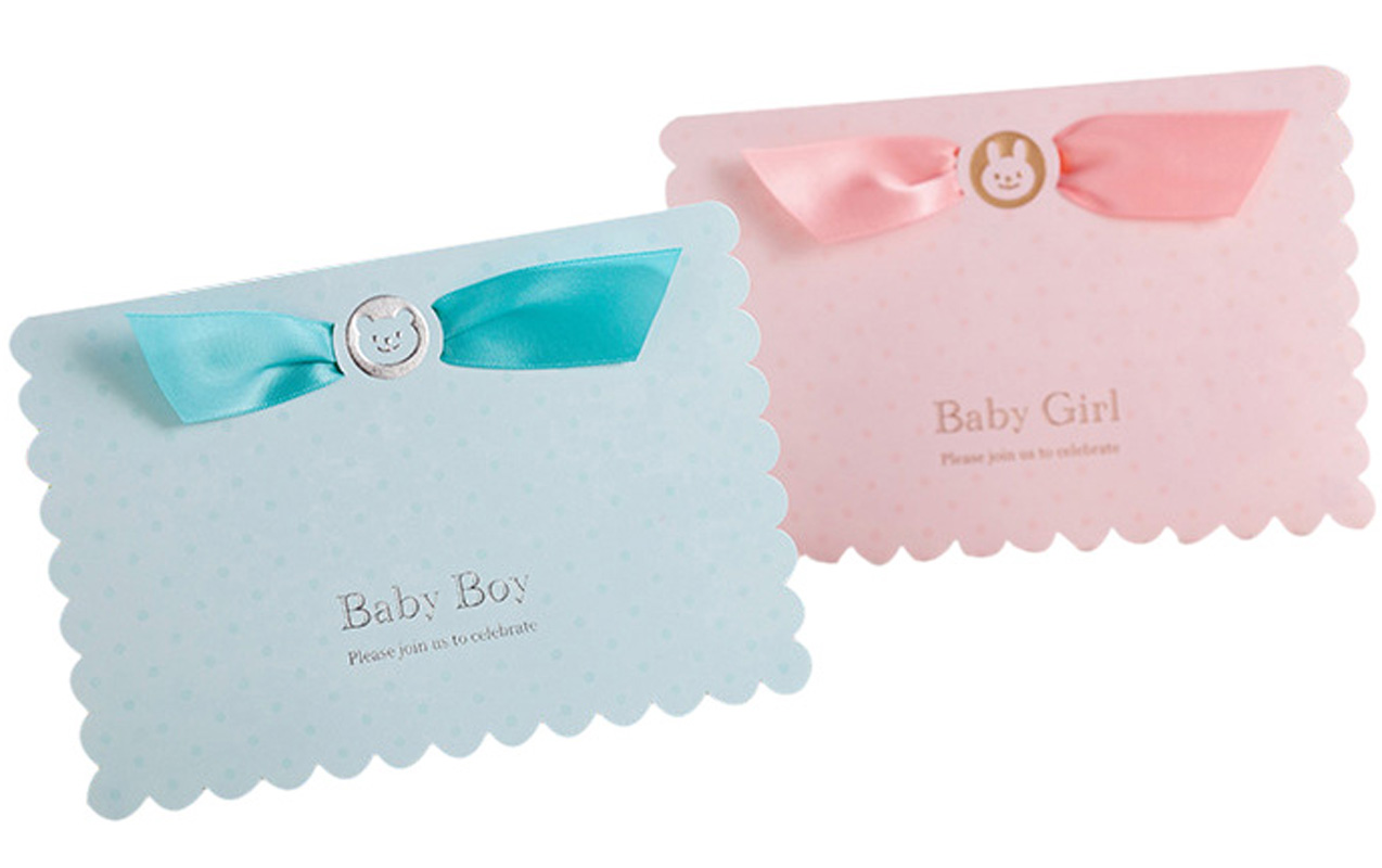 3D Pop Up Card Baby Shower Invitation Card 50Pcs First Birthday Pop Up Cards Blank Greeting