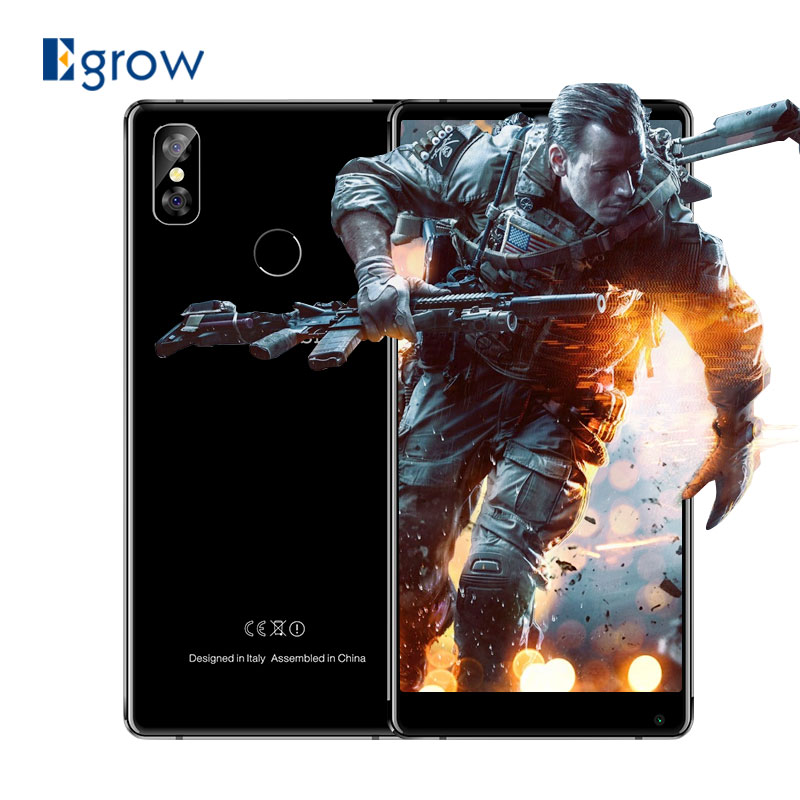 M-HORSE Pure 2 5.99'' 18:9 Smartphone Android 7.0 MTK6750 Octa Core 1.5GHz 4GB RAM 64GB ROM Dual Rear Cameras Mobile Cell phones