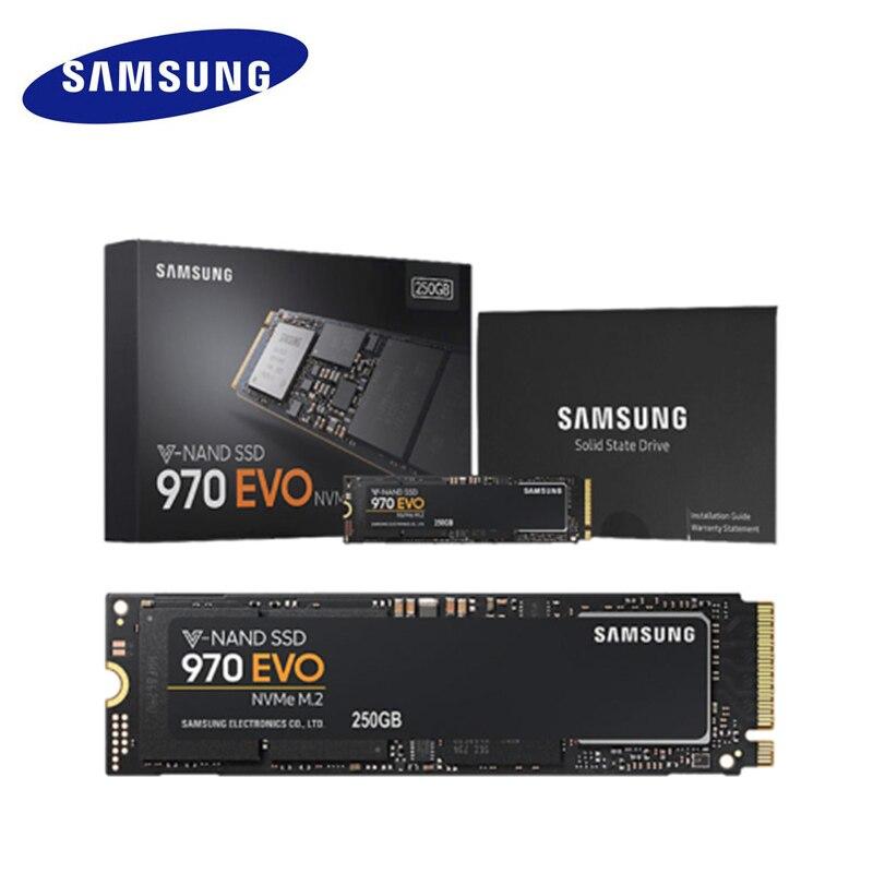 SAMSUNG SSD 970 EVO M 2 2280 NVMe ssd 500GB 250GB Internal Solid State Disk Hard