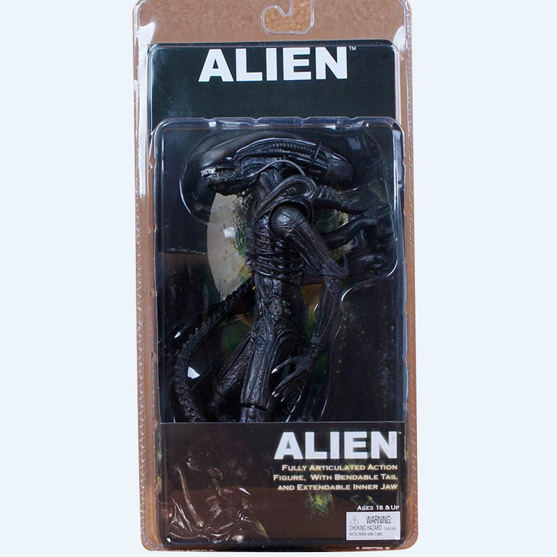 18 CM Original Figure NECA 7 Inch <font><b>1979</b></font> 40th <font><b>Alien</b></font> Action Figure Collections Model Toys Gifts image